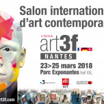 Salon international d'art contemporain - Nantes - Parc des expositions de La Beaujoire
